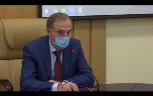 Embedded thumbnail for Заседание штаба по предотвращению распространения новой коронавирусной инфекции 06.05.2020